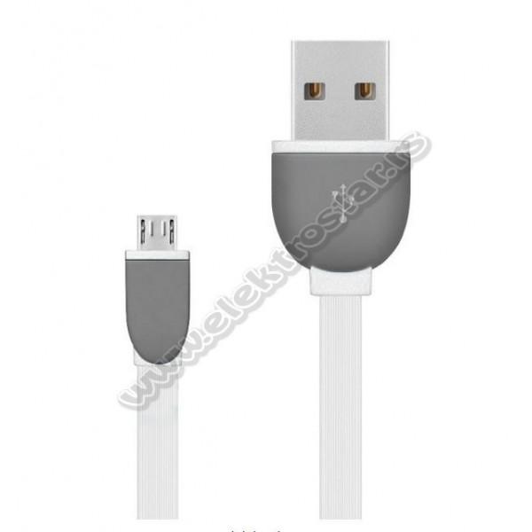 USB KABL 2.0-MicroB 1m BELI FLET