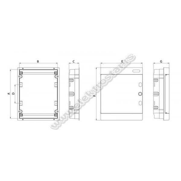 TABLA 36 U ZID U2X18C TEHNOPLAST