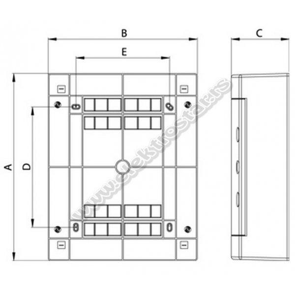 TABLA 36 NA ZID N2X18C TEHNOPLAST