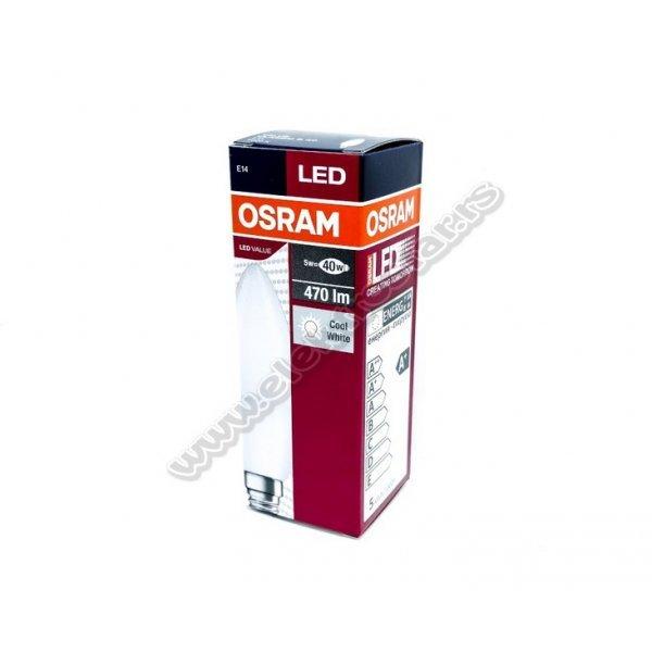 LED SVEĆA 5W/840 E14 CLB40 OSRAM