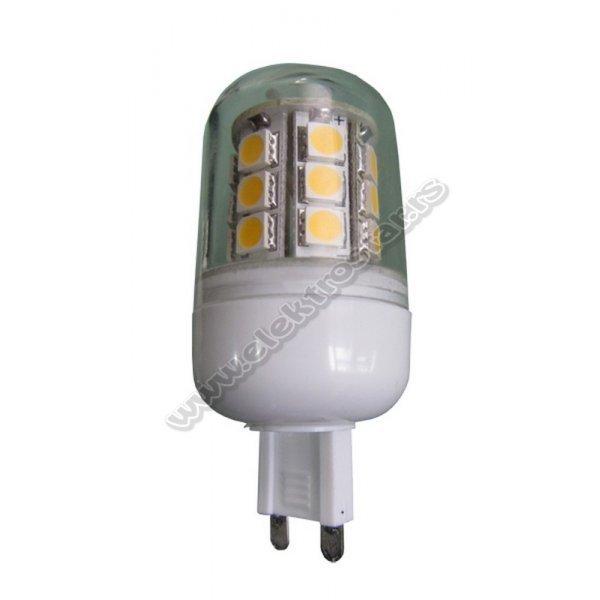 LED G-9 2,2W 6500K BB