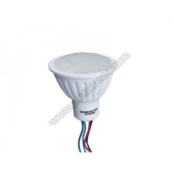 LED 3W DMX RGB SIJALICA