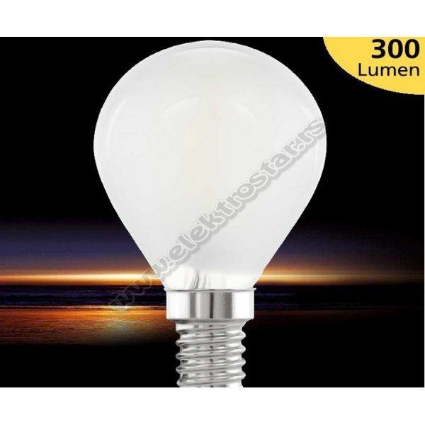 11533 LED KUGLA E14 4W 2700K MAT