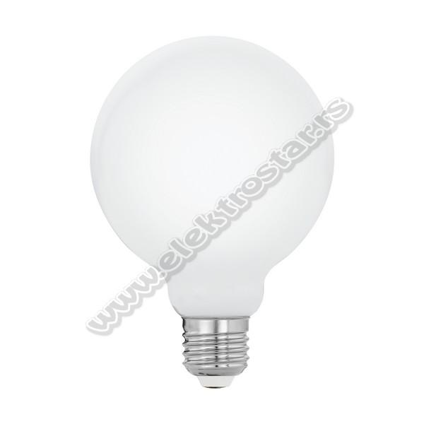 11767 LED 8W E27 G95 OPAL 2700K