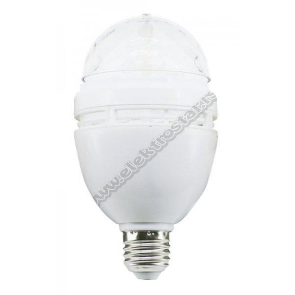 32456 LED 3W E27 RGB SIJALICA