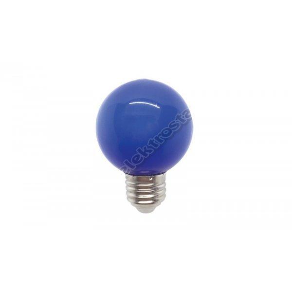 LED SIJALICA GLOBE G45 3W E27 PLAVA