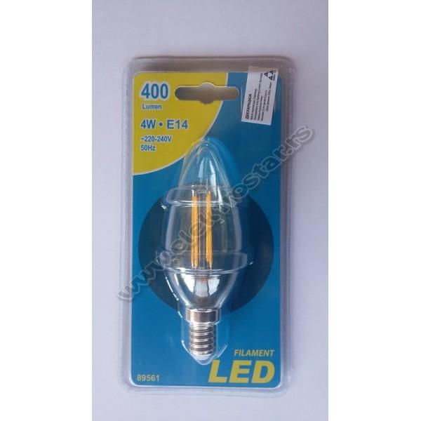 89561 FILAMENT LED SVECA 4W E14 3000K ESTO