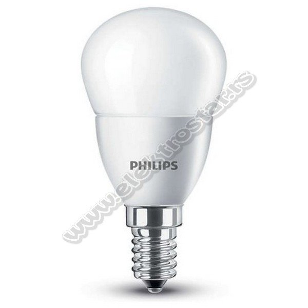 LED KUGLA 5,5W 2700K E14 P45 PHILIPS