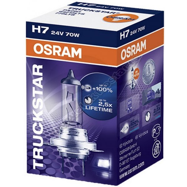 AUTO H7 64215 LTS 70W 24V OSRAM