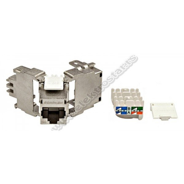 TOOLLESS LINE RJ45 CAT.6A STP  HSEMRJ6GWT
