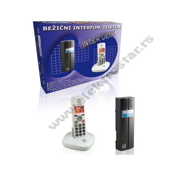 BEŽIČNI INTERFON I TELEFON CL3622 INTERDECT