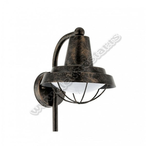 94838 SPOLJNA ZIDNA LAMPA COLINDRES E27