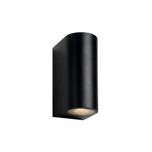 GRW1872-B SPOLJNA LAMPA SOLED 2xGU10 CRNA IP44