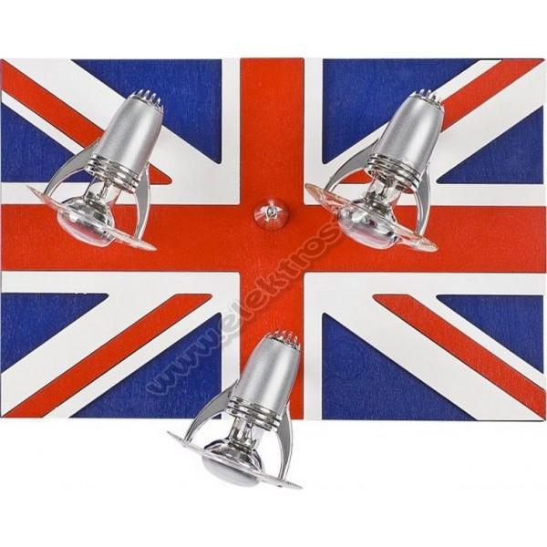 5234 PLAFONSKA LAMPA LONDON-FLAG3X40W R50 E14