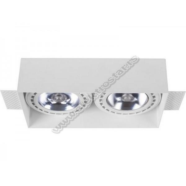 9407 UGRADNA LAMPA MOD PLUS WHITE II 2XGU10 AR-111