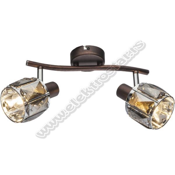 M160720-B SPOT LAMPA 2XE14 40W