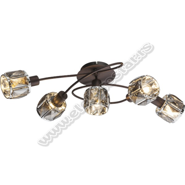 M160732-B PLAFONSKA LAMPA 5XE14 40W