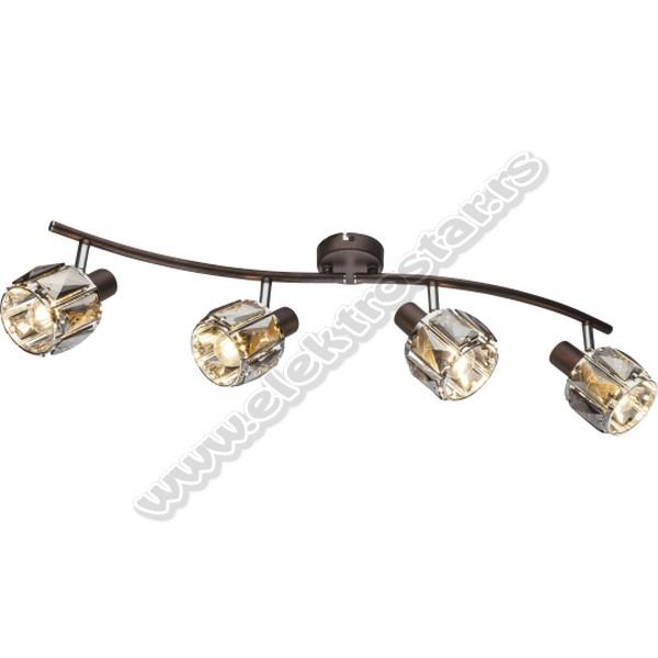 M160740-B SPOT LAMPA 4XE14 40W