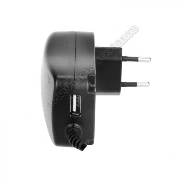 UNIVERZALNI ISPRAVLJAČ 3-12V+USB2,1A 30W