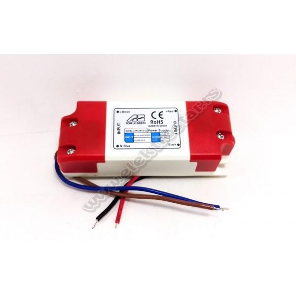 LED NAPAJANJE 15W JAH-A015-120 12VDC
