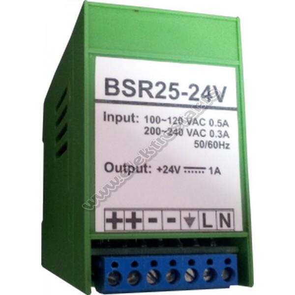 ISPRAVLJAC BSR-25-24 24V DC DIN