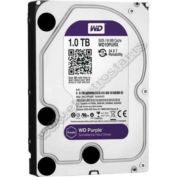 HDD 1TB SATA III WD PURPLE