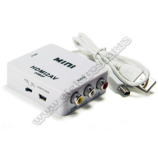 MINI KONVERTER HDMI na AV