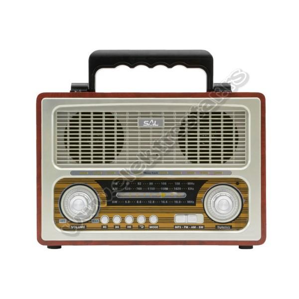 RETRO RADIO RRT3B 4in1 BT+MP3+AUX+RADIO