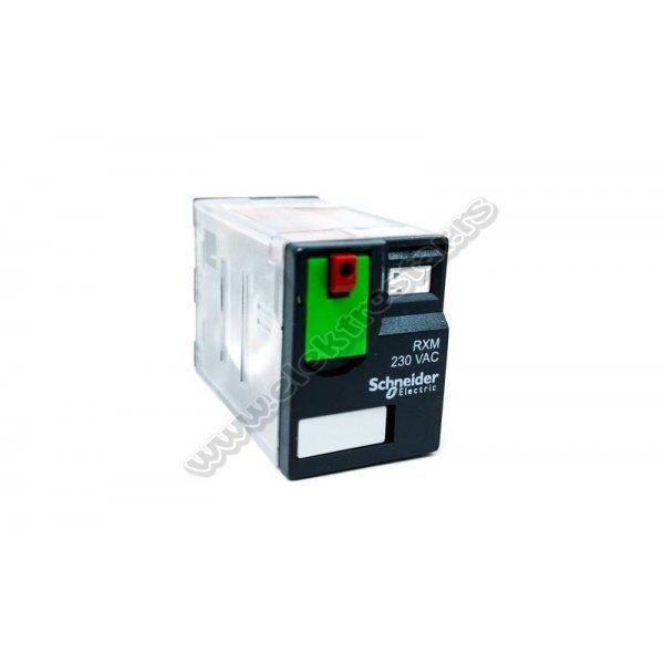 RELEJ RXM4AB1P7 230V AC SCHNEIDEE ELECTRIC