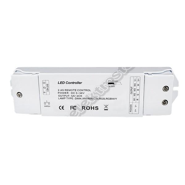 4CH RGBW LED CONTROLLER WIFI 2,4GHz V4