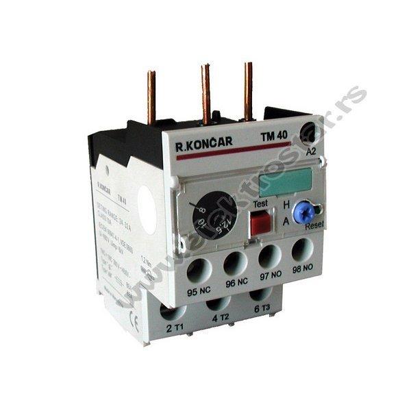 BIMETAL TM40 1.6-2.5A R.KONCAR