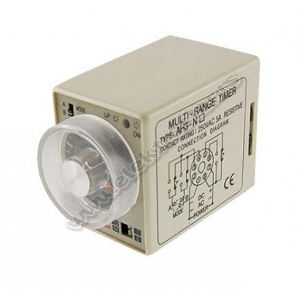 TAJMER FULLY ASH3 220V AC 3s-30min.