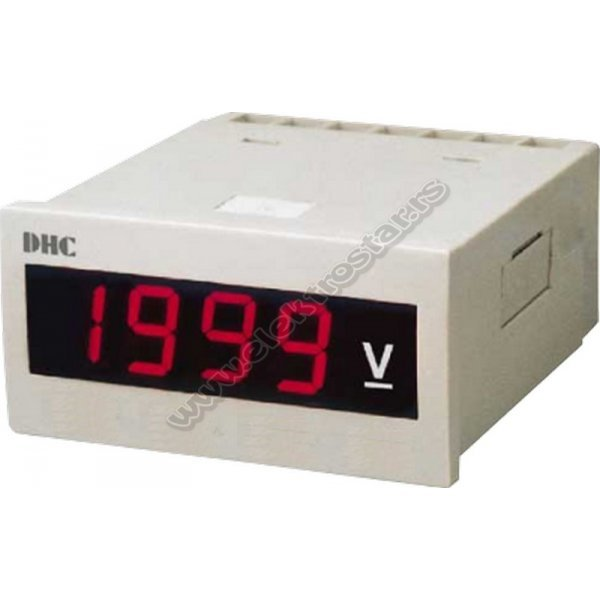 VOLTMETAR DHC6P-AV 600V 4-CIFRE