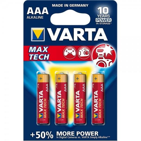 BATERIJA LR03 MAX TECH VARTA