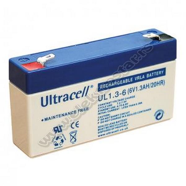 BATERIJA 6V 1.3AH ULTRACELL
