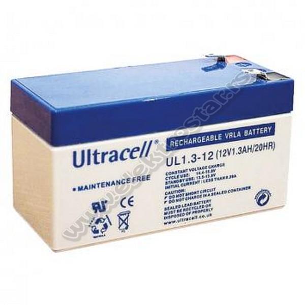 BATERIJA 12V 1,3Ah ULTRACELL