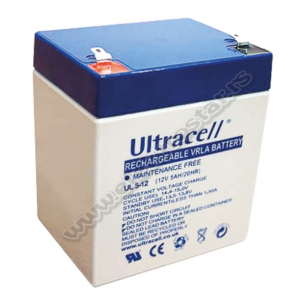 BATERIJA 12V 5Ah ULTRACELL