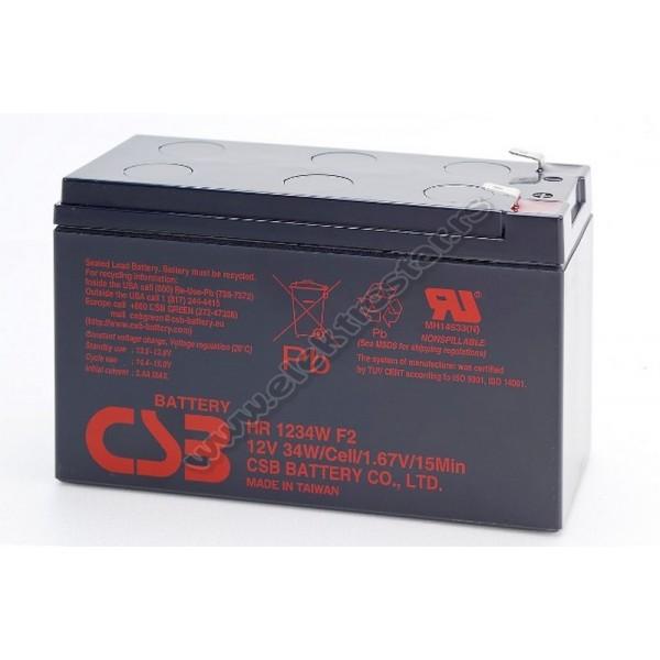 BATERIJA 12V 9Ah CSB HR 1234W (GP12460)