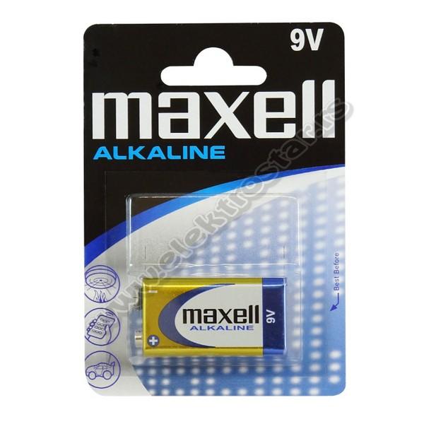 BATERIJA 6LR61 9V MAXELL