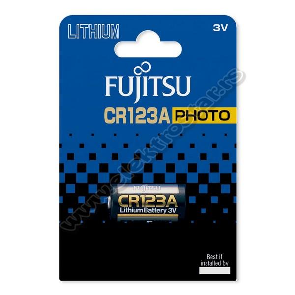 BATERIJA CR123A 3V FUJITSU
