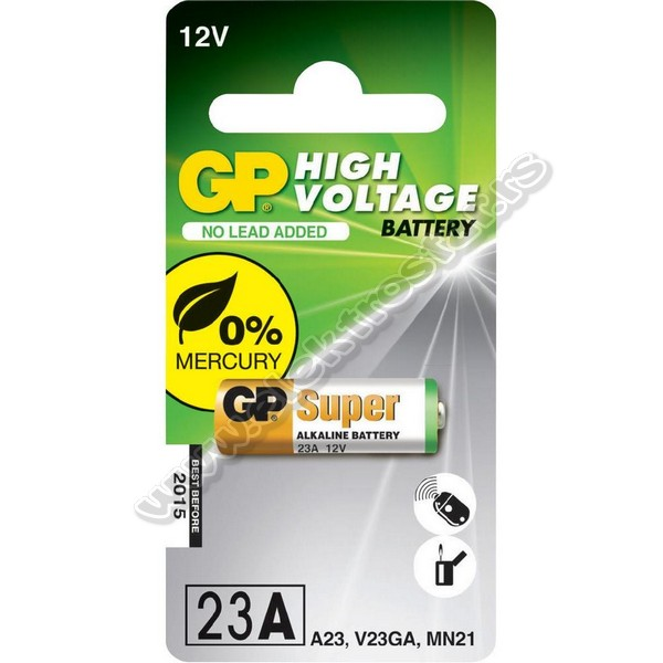 GP BATERIJA 12V 23A 10X28mm