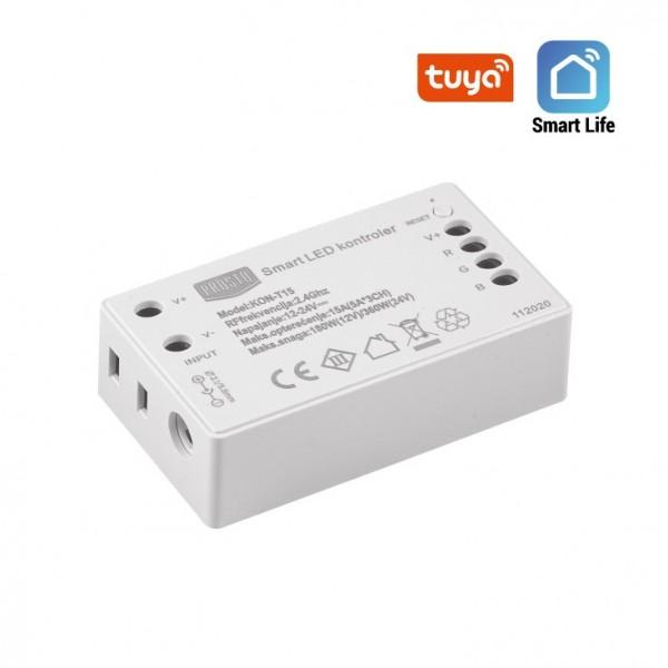 WIFI SMART LED KONTROLER RGB 12V/180W TUYA