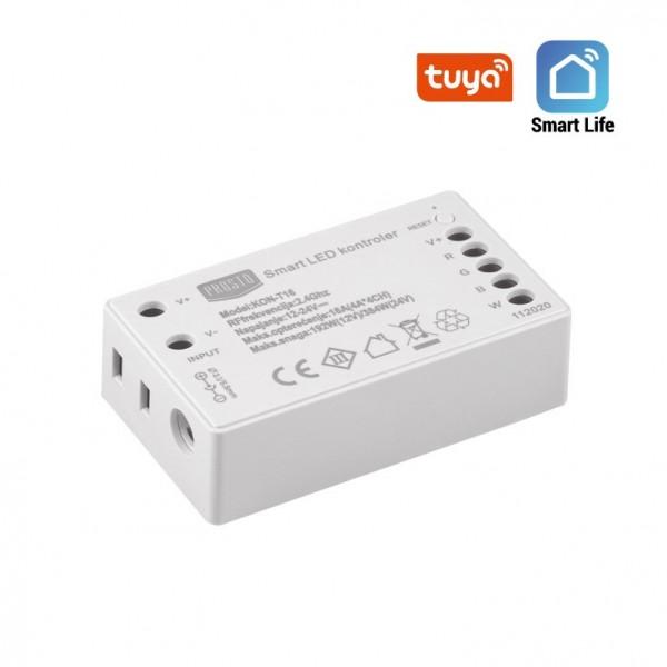 WIFI SMART LED KONTROLER RGBW 12V/192W TUYA