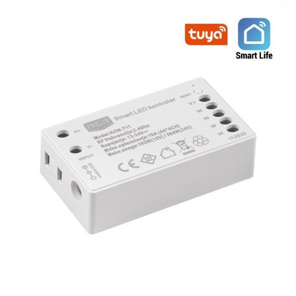 WIFI SMART LED KONTROLER WHITE 12V/192W TUYA