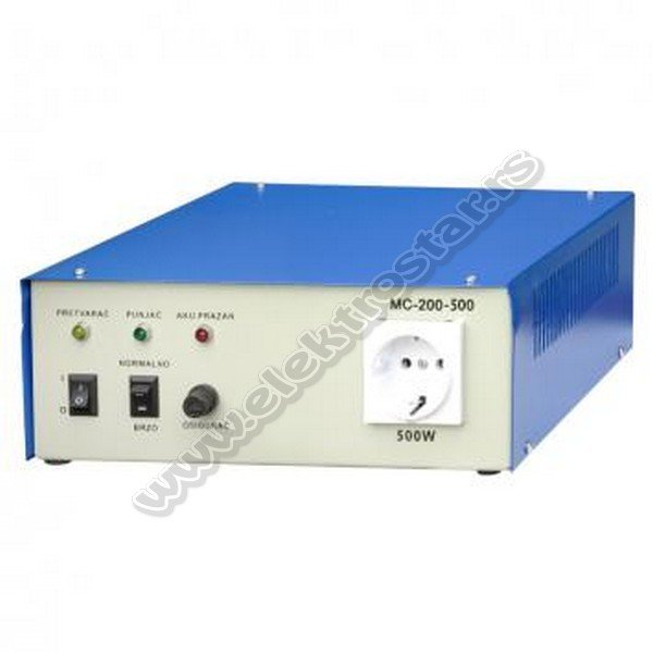 PRETVARAC 12VDC-230VAC 500W  MC-200