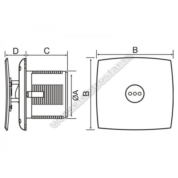 ASPIRATOR CATA INOX X-MART 10 MATIC