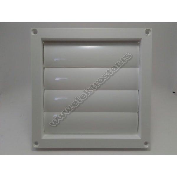 VENTILACIONA KLAPNA 150X150 PVC