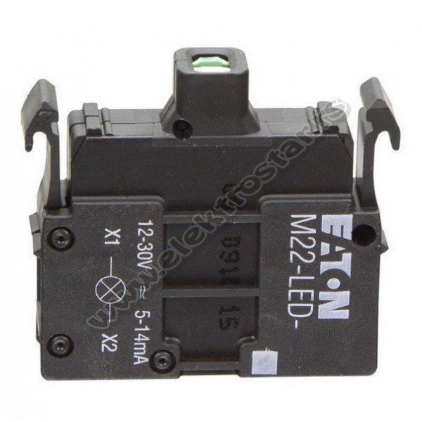 216558 M22-LED-R 10-30V AC/DC