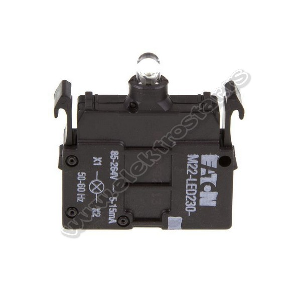 216563 M22-LED230-W 230V AC
