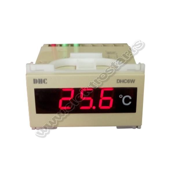 TERMOMETAR DHX6W-PT100 DIGITALNI 0-99,9C